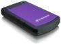 Внешний HDD Transcend StoreJet 25H3P 2.5 750Gb - 2.5, 750 Гб, 5400 rpm, USB, Фиолетовый