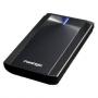 Внешний HDD PRESTIGIO External Data Safe 2.5 500Gb - 2.5, 500 Гб, 5400 rpm, Чёрный