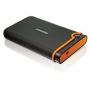 Внешний HDD Transcend StoreJet 25M2 2.5 320Gb - 2.5, 320 Гб, 5400 rpm, USB, Чёрный / Оранжевый