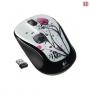 Мышь для ноутбука Logitech M325 Fingerprint Flowers (910-002411)