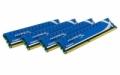 Модуль памяти Kingston DDR3 16Gb (4x4Gb) 1866MHz (KHX1866C9D3K4/16GX)