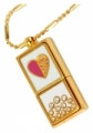 USB-флешка Styleflash Golden Heart 4Gb