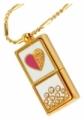 USB-флешка Styleflash Golden Heart 4Gb